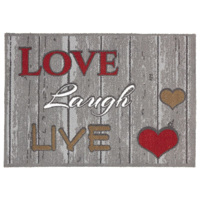 Fussmatte Casadoor Love laugh 50x70 cm Bild 2