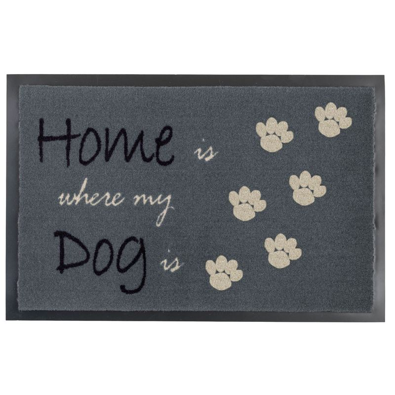 Fussmatte Homelike Home Dog grau 40x60 cm