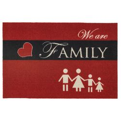Fussmatte Homelike We are Family 40x60 cm Bild 1