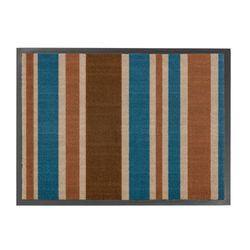 Fussmatte Homelike Streifen blau 50x70 cm