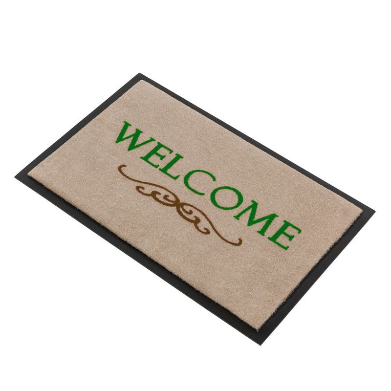 Fussmatte Homelike Welcome Ornament beige 50x70 cm Bild 2