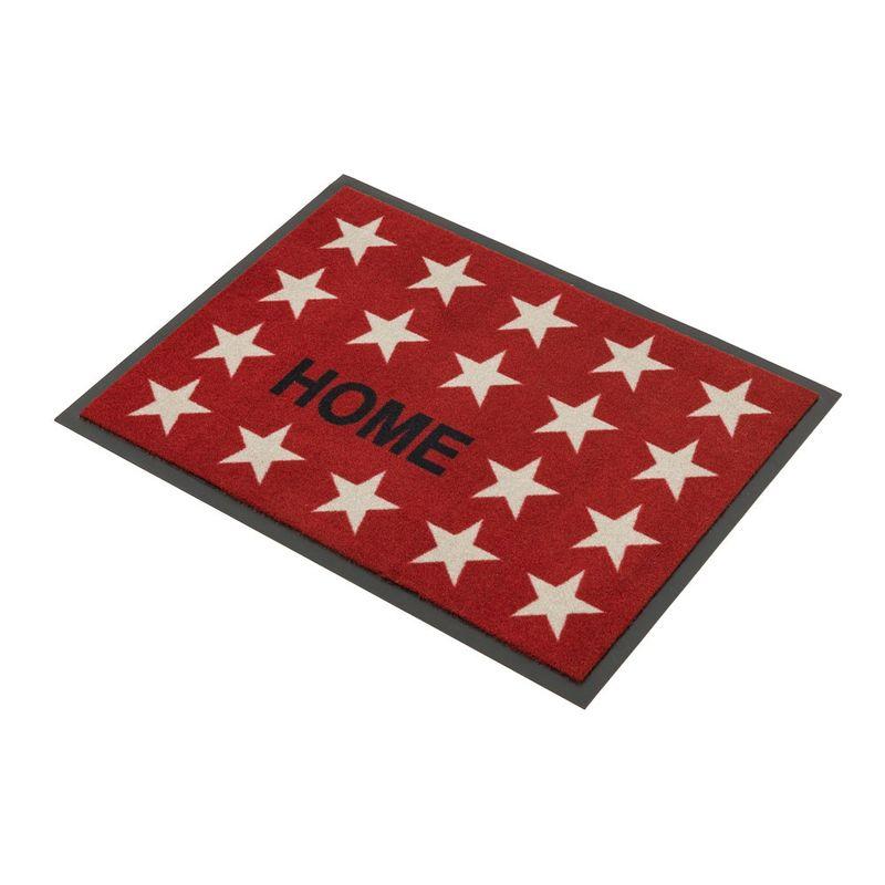 Fussmatte Homelike Sterne Home rot 50x70 cm Bild 2