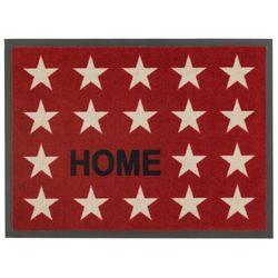Fussmatte Homelike Sterne Home rot 50x70 cm