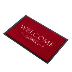 Fussmatte Homelike Welcome Ornament rot 40x60 cm Bild 2