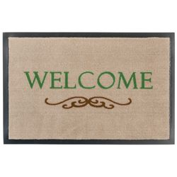 Fussmatte Homelike Welcome Ornament beige 40x60 cm Bild 1