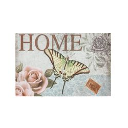 Fussmatte Eco Living Home Schmetterling 40x60 cm