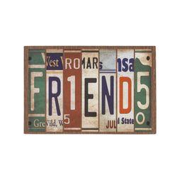 Fussmatte Eco Living Schild Friends 40x60 cm Bild 2