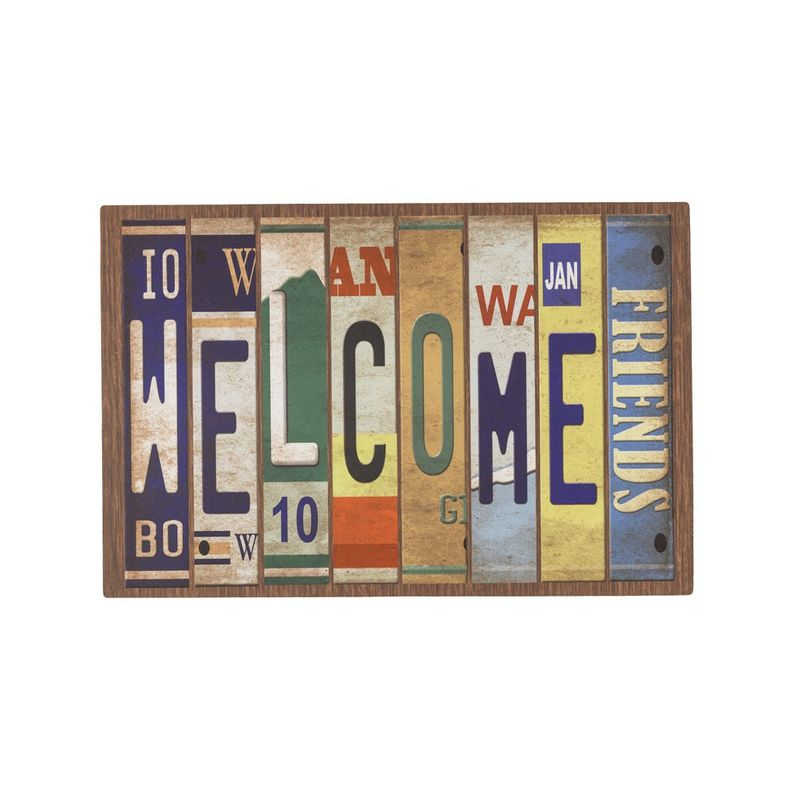Fussmatte Eco Living Schild Welcome 40x60 cm