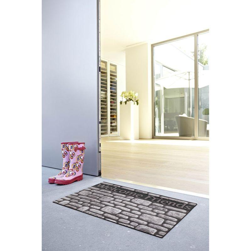 Fussmatte Eco Fashion Steine Welcome F. 45x75 cm Bild 1