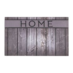 Fussmatte Eco Fashion Holz Home grau 45x75 cm Bild 1