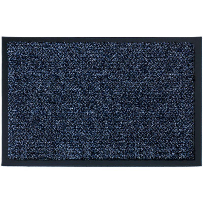 Fussmatte Graphit blau 130x200 cm Bild 1