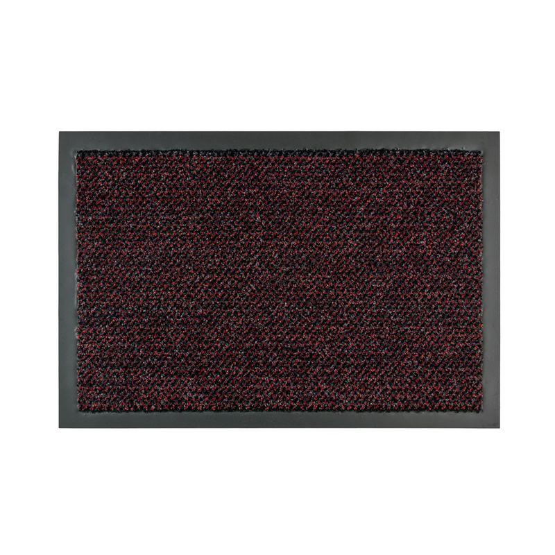 Fussmatte Graphit rot 130x200 cm