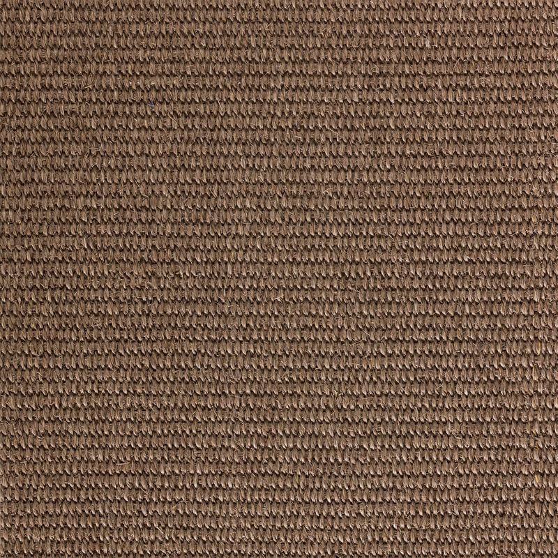Sisalteppich mit Umkettelung Merida 068 Nerz |Wunschmaß