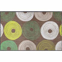 Fußmatte wash+dry Design Cyclone taupe 75x120 cm