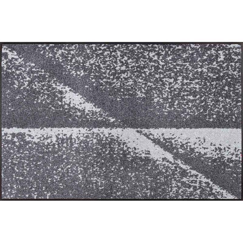 Fußmatte wash+dry Design Grey Shadow