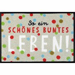 Fußmatte wash+dry Design Buntes Leben 40x60 cm