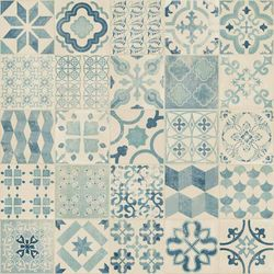 PVC Tarkett Exclusive 240 Retro Almeria Blue Detail