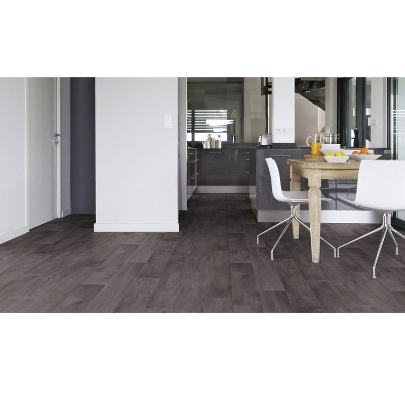 PVC Boden Gerflor Texline HQR 1818 Timber Dark Grey | 4m