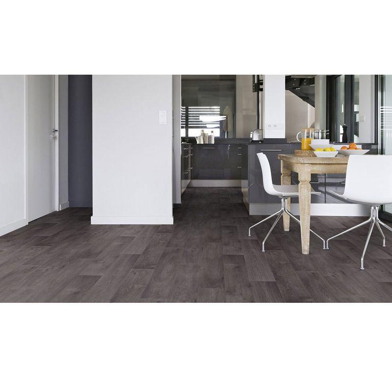 pvc boden gerflor texline hqr 1818 timber dark grey 4m bodenbel ge pvc belag 4 00 m rollenbreite. Black Bedroom Furniture Sets. Home Design Ideas