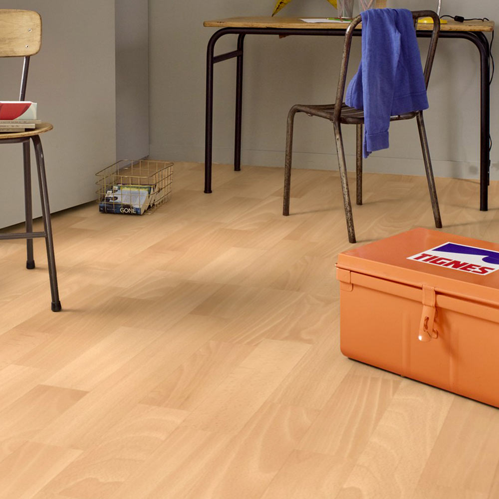 PVC Boden Gerflor Solidtex 0412 Maple Forest | 4m Bodenbeläge PVC ...