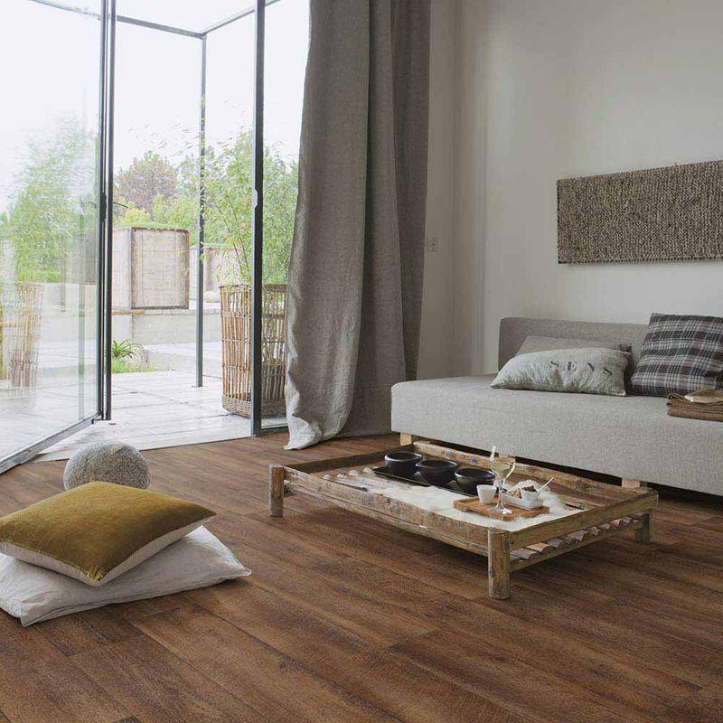 pvc boden gerflor primetex concept 1152 cajou brown 2m. Black Bedroom Furniture Sets. Home Design Ideas