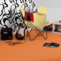 PVC Boden Tarkett Exclusive 260 Dj Medium Orange 2m Bild 2