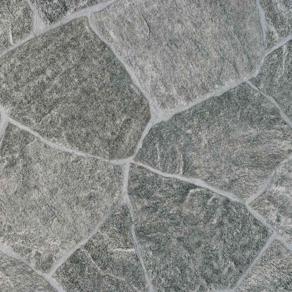Bekannt PVC Boden Gerflor Texline Classic 0618 Granit Grau-Grün | 4m BH82
