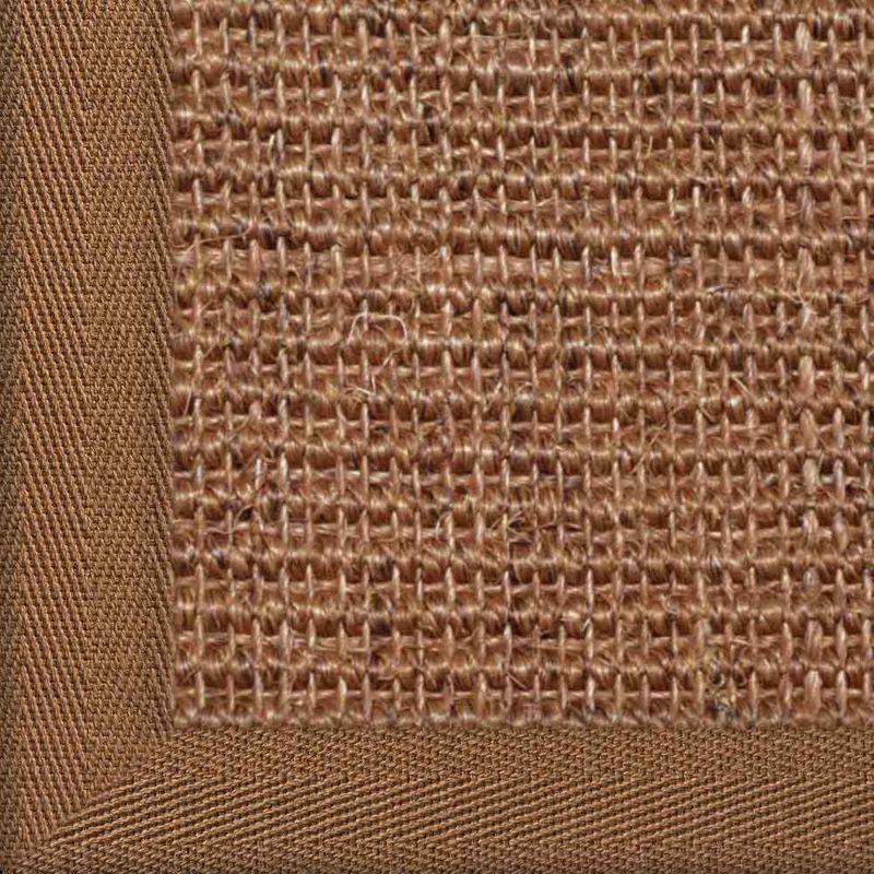 Sisalteppich mit Stoffbordüre Manaus Braun 65 | Wunschmaß Bild 24