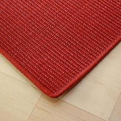 Sisalteppich mit Umkettelung und Fleckschutz Manaus Rubin 11 | Wunschmaß