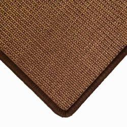 Sisalteppich mit Umkettelung und Fleckschutz Manaus Braun 65 | Wunschmaß