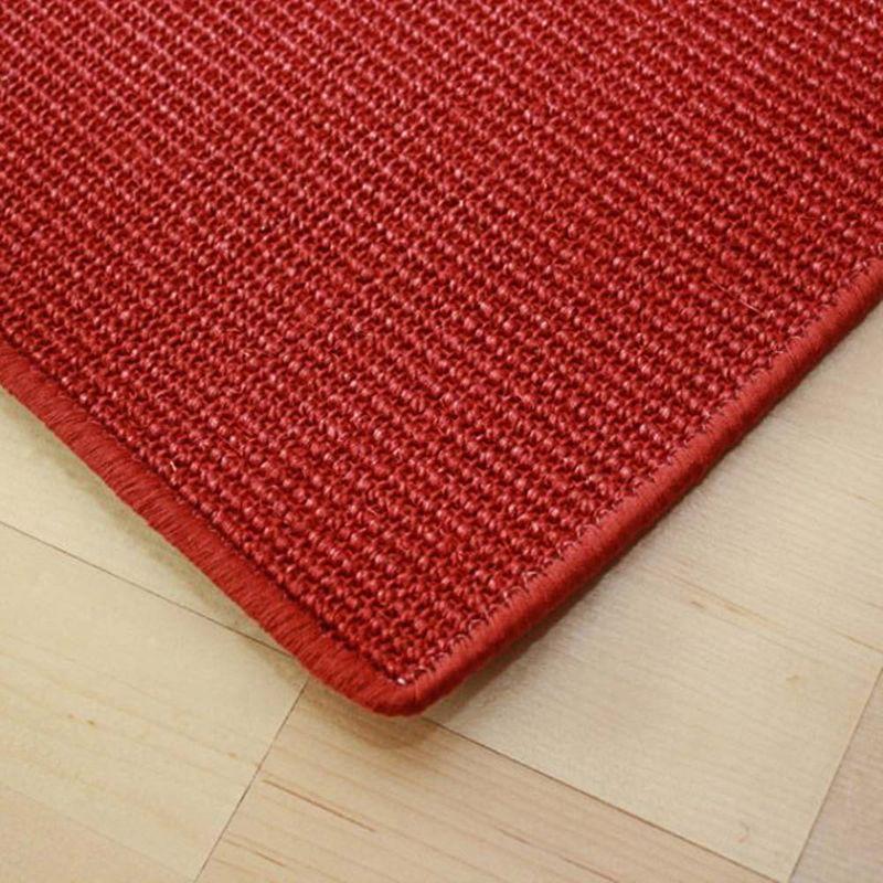Sisalteppich mit Umkettelung Manaus Rubin 11 | Wunschmaß