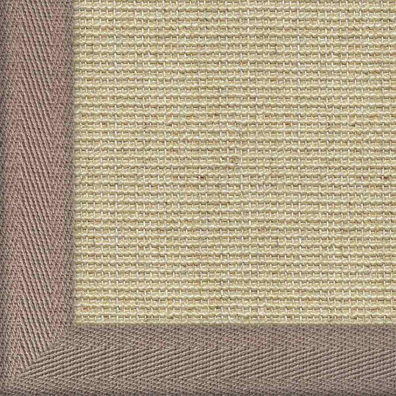 Sisalteppich mit Stoffbordüre Salvador Reis 01 | Wunschmaß Bild 6