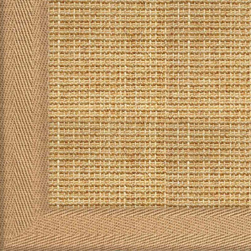 Sisalteppich mit Stoffbordüre Salvador Chablis 07 | Wunschmaß Bild 4