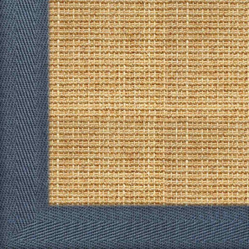 Sisalteppich mit Stoffbordüre Salvador Chablis 07 | Wunschmaß Bild 11