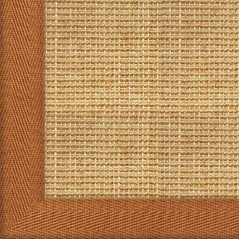 Sisalteppich mit Stoffbordüre Salvador Chablis 07 | Wunschmaß Bild 20