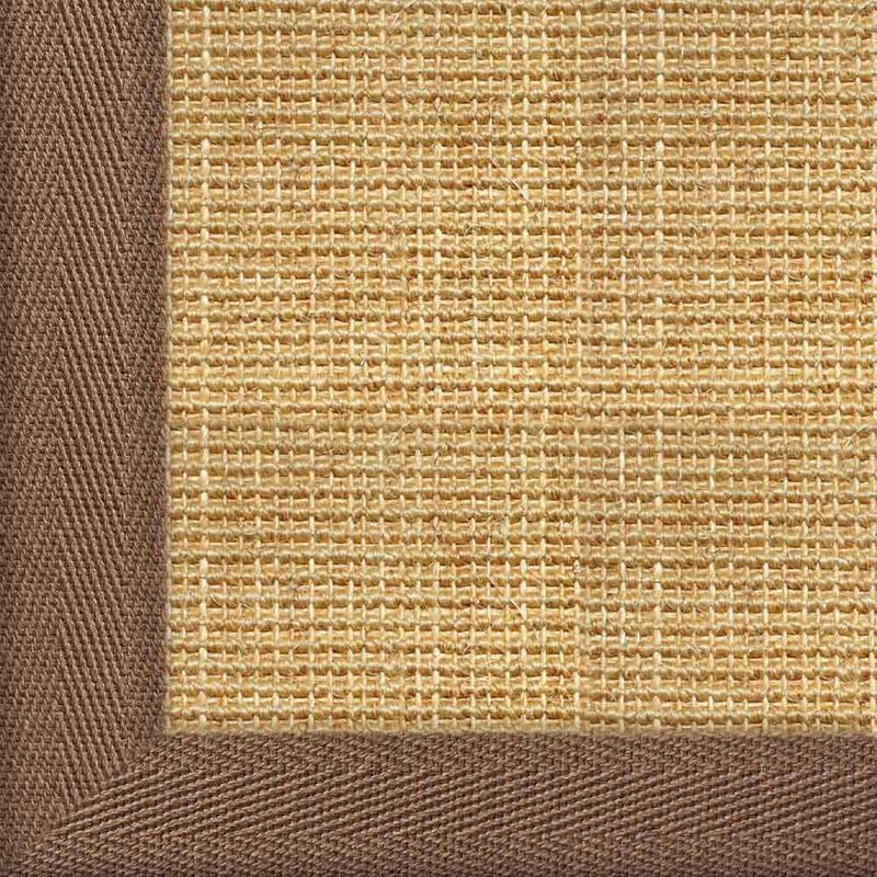 Sisalteppich mit Stoffbordüre Salvador Chablis 07 | Wunschmaß Bild 21