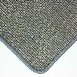Sisalteppich mit Umkettelung und Fleckschutz Salvador Kies 43 | Wunschmaß
