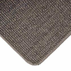 Sisalteppich mit Umkettelung und Fleckschutz Salvador Dunkelgrau 42 | Wunschmaß