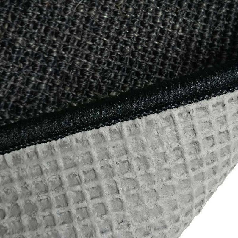 Sisalteppich mit Umkettelung und Fleckschutz Salvador Anthrazit 40 | Wunschmaß Bild 6