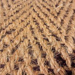 Kokosläufer Bangalore Natur-Braun Detail 4