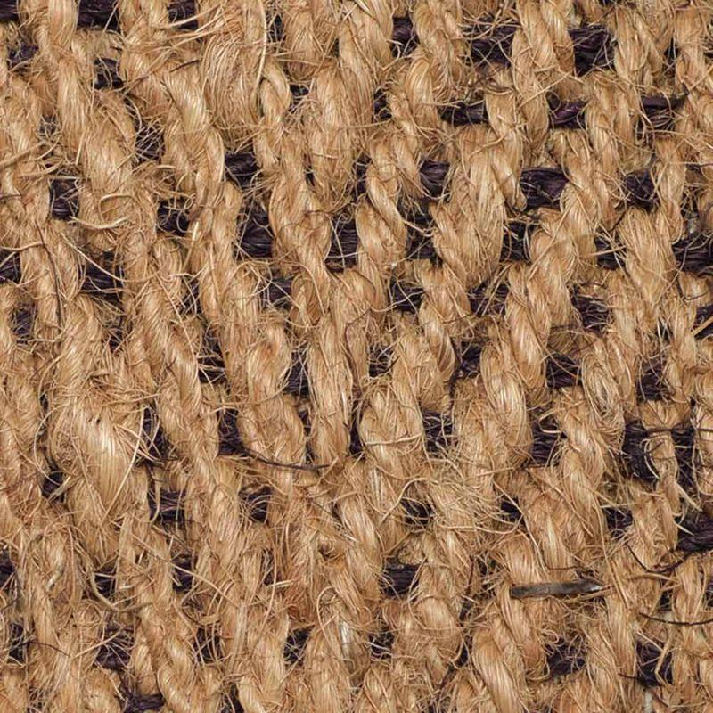Kokosläufer Bangalore (ohne Rücken) Natur-Braun 65 cm |Wunschlänge