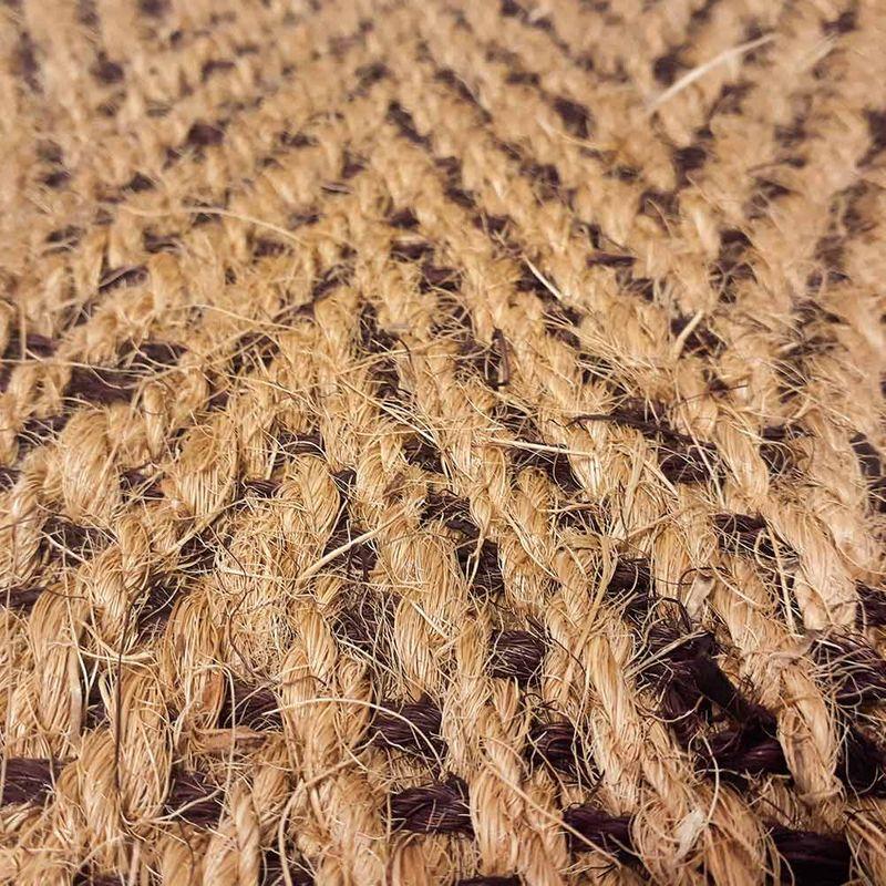 Kokosläufer Bangalore Natur-Braun Detail 3