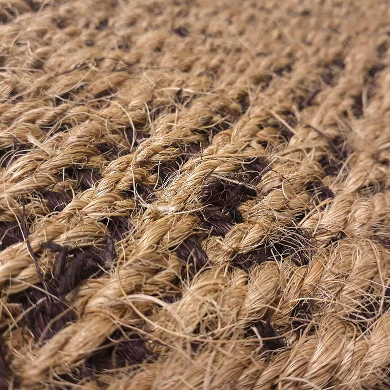 Kokosläufer Bangalore Natur-Braun Detail 5