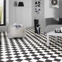 PVC Boden Tarkett Essentials 240 Albi Black and White