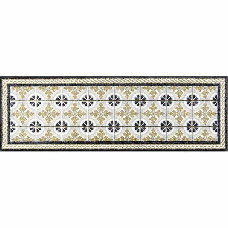 Fußmatte wash+dry Design Kitchen Tiles 60x180 cm