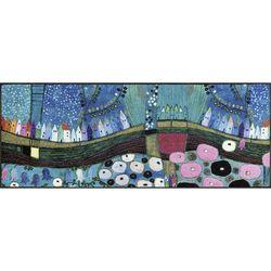 Fußmatte wash+dry Design Premium Stadt in Blau 75x190 cm