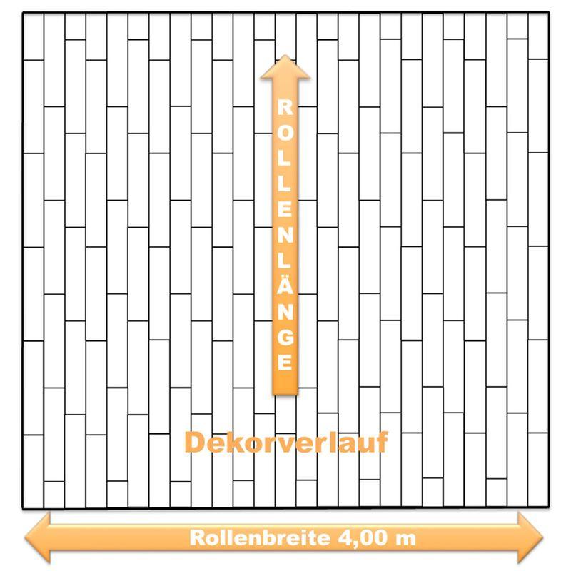 Dekorverlauf PVC Boden Livingfloor Pietro Havanna Oak 634M
