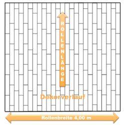 Dekorverlauf PVC Boden Livingfloor Pietro Havanna Oak 699L