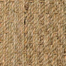 Seegrasteppich mit Stoffbordüre Rangoon | Wunschmaß
