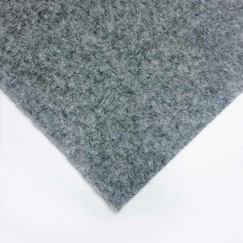 livingfloor® Kunstrasen Vliesrasen mit Noppen Grau in 1,50 m Breite, Länge variabel Meterware Bild 1